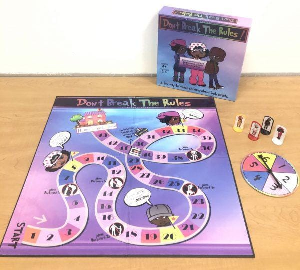 Don't break the rules board game