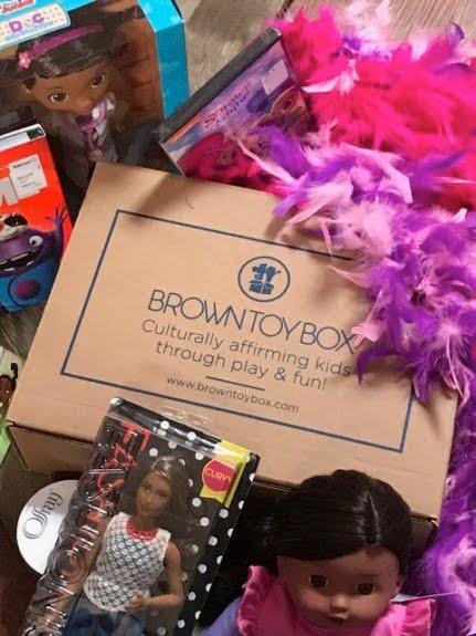 Brown box toys