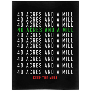 40 Acres Minky Blankets [BLACK]