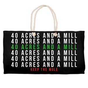 40 Acres Weekender Totes [BLACK]