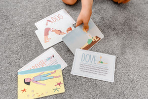 Little Yogi Card Game - Emilia Rose Art Eco Yoga Mats