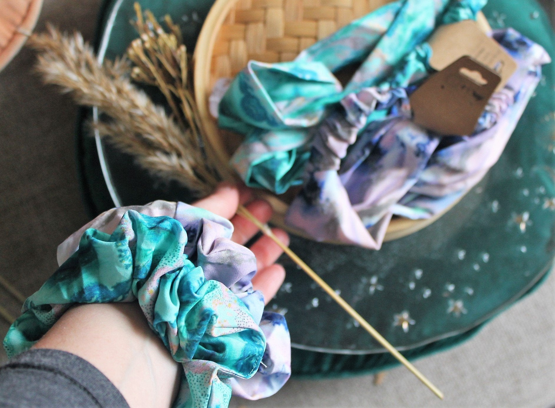 Scrunchie & Headband-The Ultimate Pack - Emilia Rose Art Eco Yoga Mats