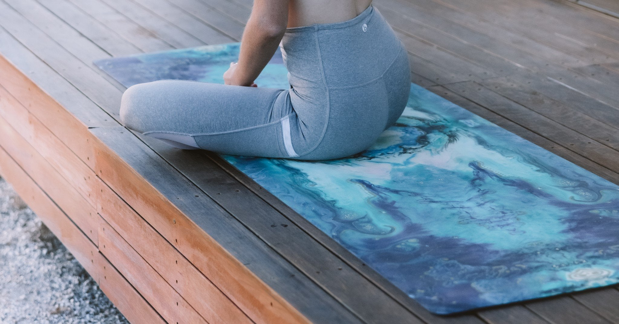 THE AWAKENING ECO YOGA MAT & FREE JUTE STRAP - Emilia Rose Art Eco Yoga Mats
