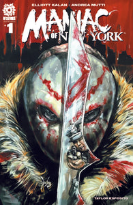Maniac of New York #1 - 2nd Print - Izzy's Comics Exclusive - Tyler Jay Haddox Cover