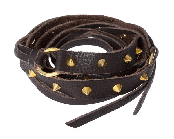 POLO BELT WITH CONE STUDS