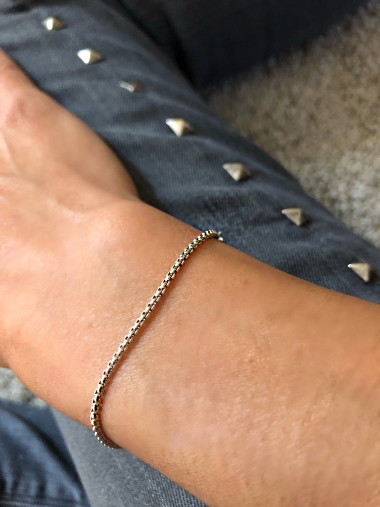 MEDIUM BOX CHAIN BRACELET