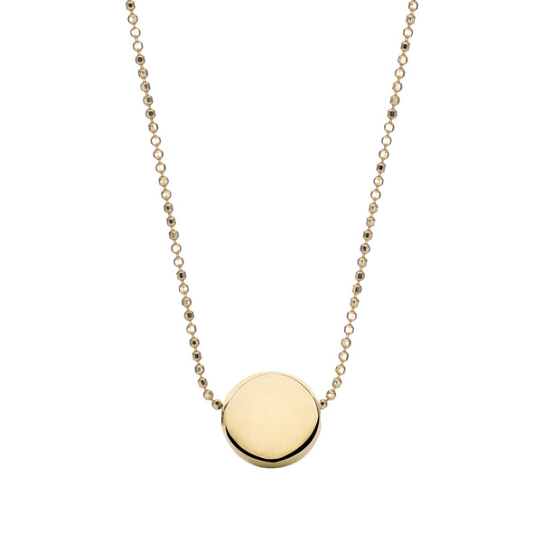 RAW GOLD PEARL NECKLACE