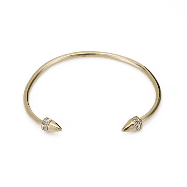 POWER BRACELET W DIAMOND PAVE