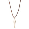 RAW PENDULUM NECKLACE
