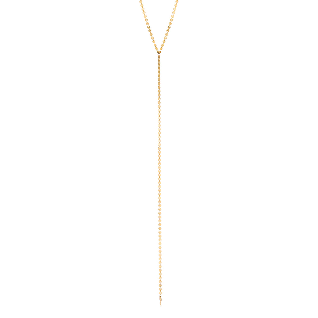 DEW DISC CHAIN NECKLACE