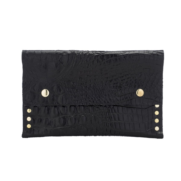CROCODILE PASPORT WALLET/CLUTCH