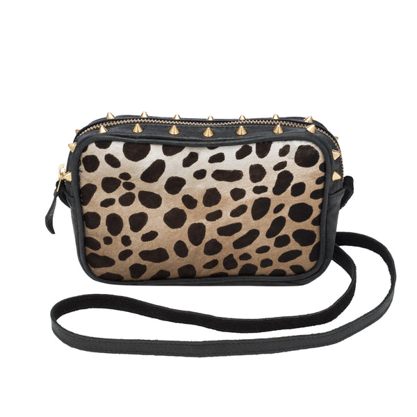 PETITE LEOPARD CROSS BODY