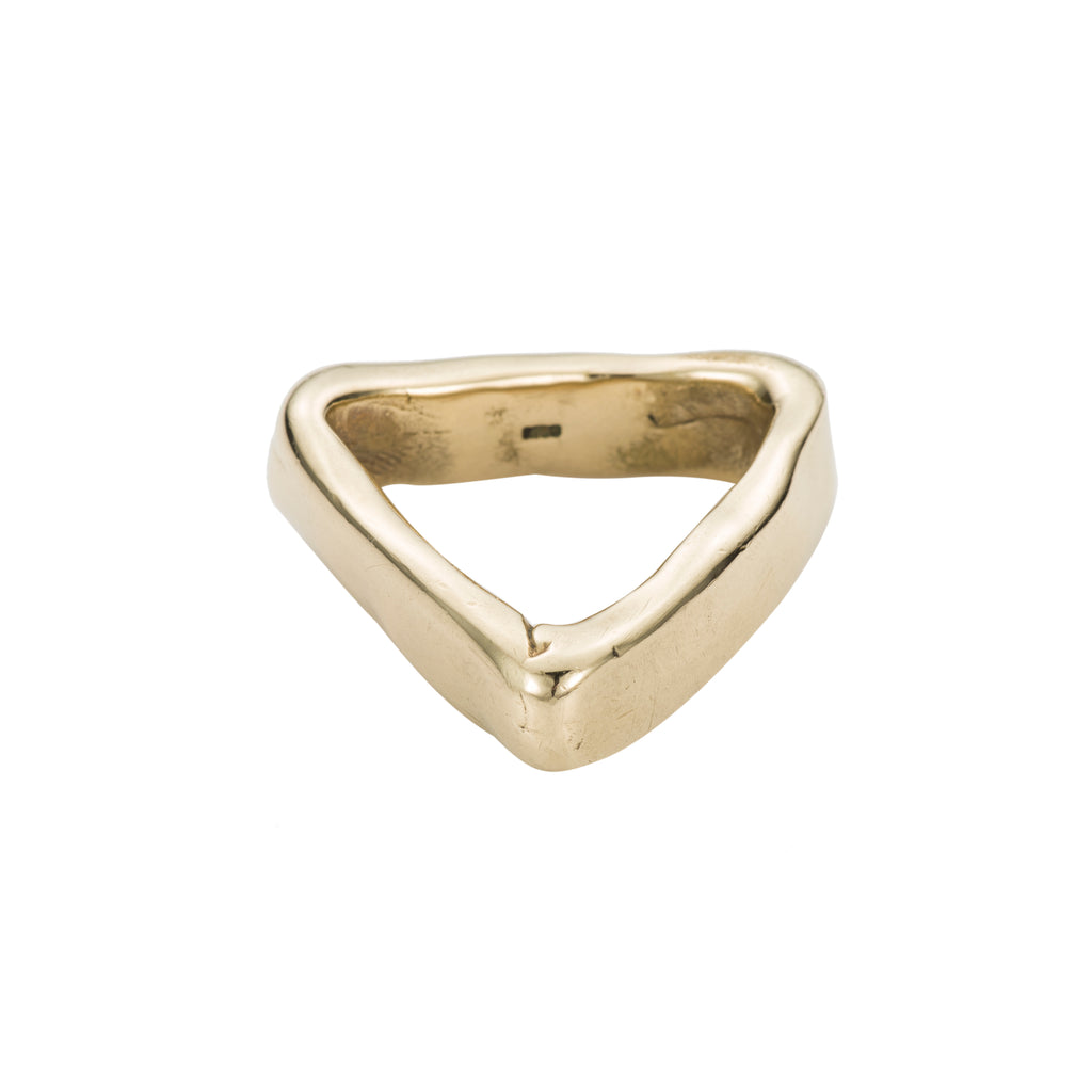 RAW TRIANGLE RING