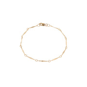 Coco Chain Bracelet - 14K Gold Filled