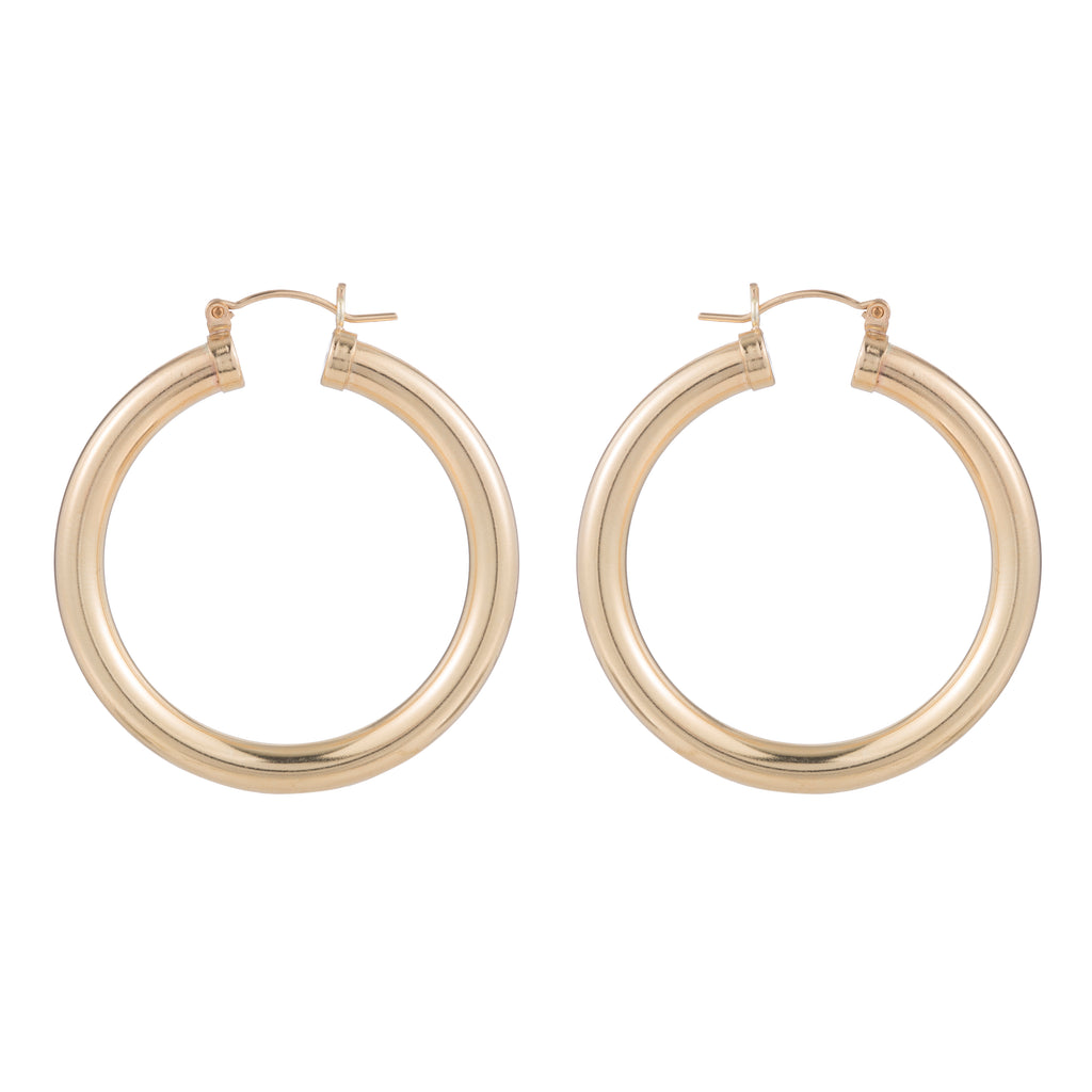 HOLLOW THICK HOOPS 40MM