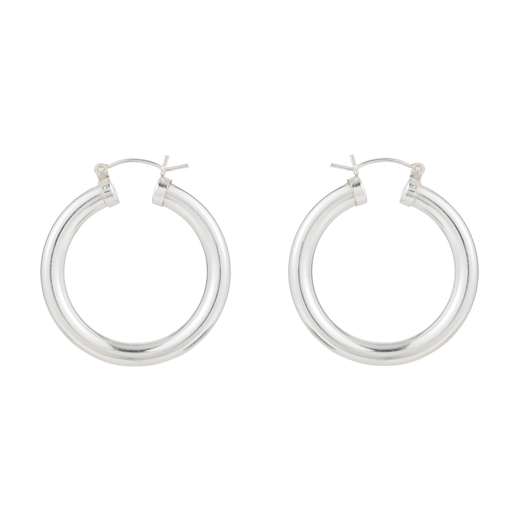 HOLLOW THICK HOOPS 30MM