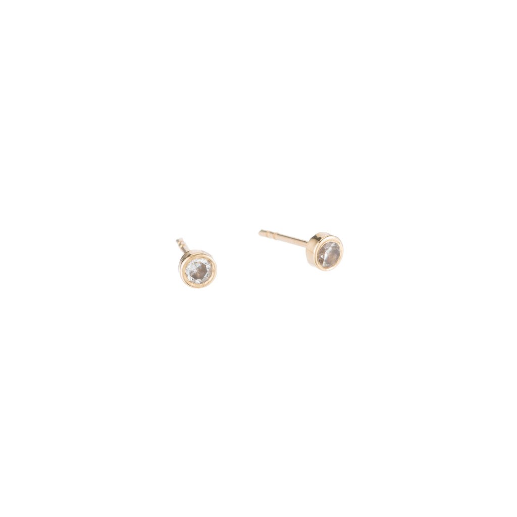 BASEL EARRINGS W CZ