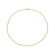 Thin Box Chain Choker - 14K Gold Filled
