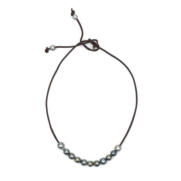 TAHITIAN 13 PEARL NECKLACE