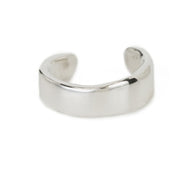 Raw Cuff Ring - Sterling Silver
