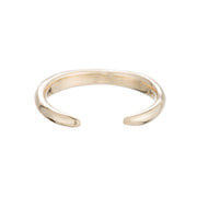 Raw Open Round Ring - Gold