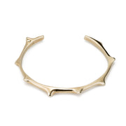 Spiky Bracelet - 14K Gold Plated Brass