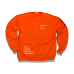 Orange Soda Outside My Mind Sweatshirt