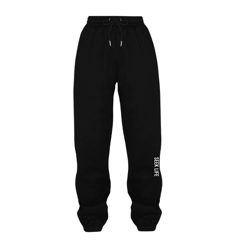 Black Seek Life Sweatpants