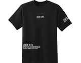 Seek Life T-Shirt Black