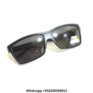 Wraparound Sports Polarized Sunglasses for Men and Women 10069BL