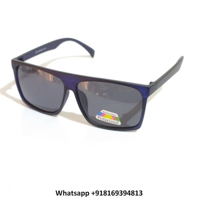 Trendy Square Polarized Sunglasses for Men and Women 2156BL