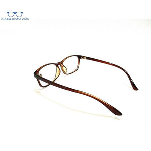 Blue Light Blocker Computer Glasses Anti Blue Ray Eyeglasses 2401BR - GlassesIndia