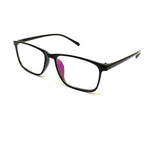 Blue Light Blocker Computer Glasses Anti Blue Ray Eyeglasses 2408BK - GlassesIndia