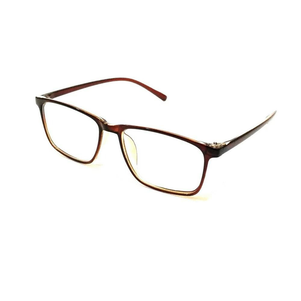 Blue Light Blocker Computer Glasses Anti Blue Ray Eyeglasses 2408BR - GlassesIndia