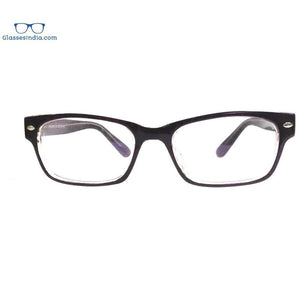 Black Computer Glasses with Anti Glare Coating 2701BK