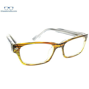 Brown Computer Glasses with Anti Glare Coating 2702Br