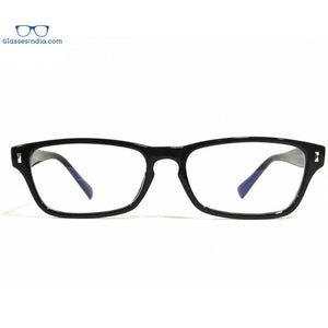 Black Computer Glasses with Anti Glare Coating 2702BK