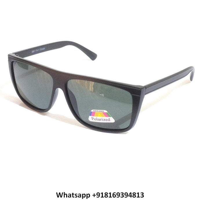 Trendy Square Polarized Sunglasses for Men and Women 2897MBK