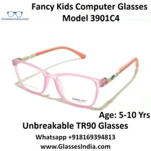 Load image into Gallery viewer, Kids Computer Glasses Blue Light Blocker Anti Blue Ray Eyeglasses  3901C4