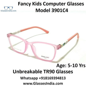 Kids Computer Glasses Blue Light Blocker Anti Blue Ray Eyeglasses  3901C4