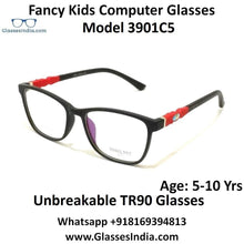 Load image into Gallery viewer, Kids Computer Glasses Blue Light Blocker Anti Blue Ray Eyeglasses  3901C5