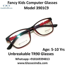 Load image into Gallery viewer, Kids Computer Glasses Blue Light Blocker Anti Blue Ray Eyeglasses  3901C9