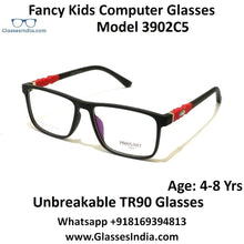 Load image into Gallery viewer, Kids Computer Glasses Blue Light Blocker Anti Blue Ray Eyeglasses  3902C5