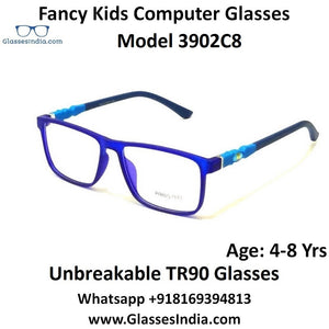 Kids Computer Glasses Blue Light Blocker Anti Blue Ray Eyeglasses  3902C8