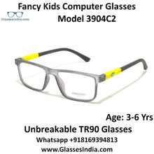 Load image into Gallery viewer, Kids Computer Glasses Blue Light Blocker Anti Blue Ray Eyeglasses  3904C2