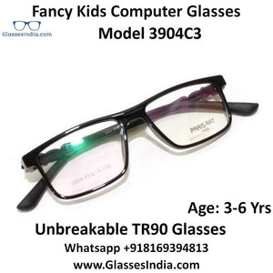 Kids Computer Glasses Blue Light Blocker Anti Blue Ray Eyeglasses  3904C3