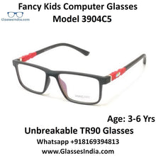 Load image into Gallery viewer, Kids Computer Glasses Blue Light Blocker Anti Blue Ray Eyeglasses  3904C5