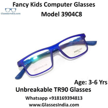 Load image into Gallery viewer, Kids Computer Glasses Blue Light Blocker Anti Blue Ray Eyeglasses  3904C8