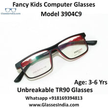 Load image into Gallery viewer, Kids Computer Glasses Blue Light Blocker Anti Blue Ray Eyeglasses  3904C9