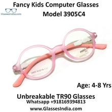 Load image into Gallery viewer, Kids Computer Glasses Blue Light Blocker Anti Blue Ray Eyeglasses  3905C4